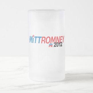 Mitt Romney 2012 16 Oz Frosted Glass Beer Mug