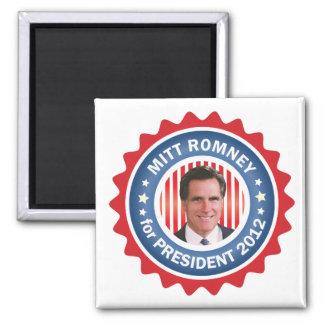 Mitt Romney 2012 para el presidente de los E.E.U.U Imán De Frigorifico