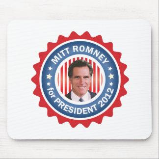 Mitt Romney 2012 para el presidente de los E.E.U.U Tapetes De Raton