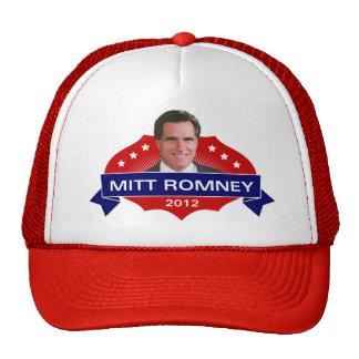 Mitt Romney 2012 para el presidente Gorras