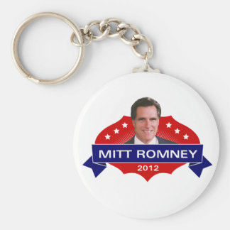 Mitt Romney 2012 para el presidente Llavero