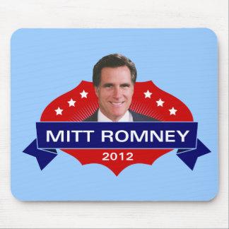 Mitt Romney 2012 para el presidente Mouse Pads