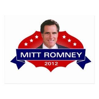 Mitt Romney 2012 para el presidente Postal