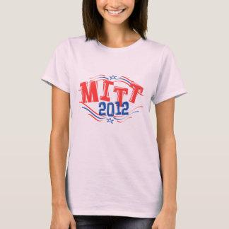 Mitt Romney 2012 patriótico Playera