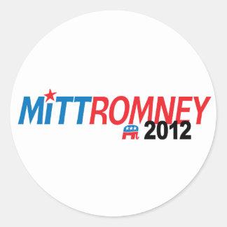Mitt Romney 2012 Pegatina