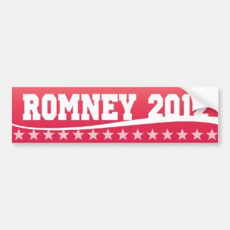 Mitt Romney 2012 Pegatina Para Auto