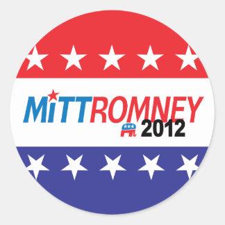 Mitt Romney 2012 Pegatinas
