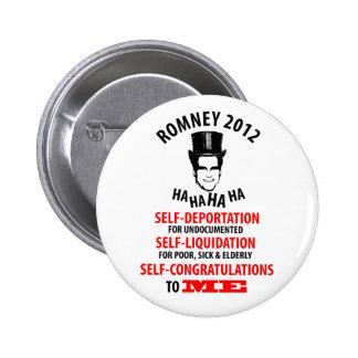 Mitt Romney 2012 Pin