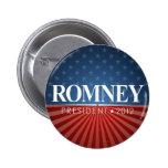 Mitt Romney 2012 Pin Redondo 5 Cm