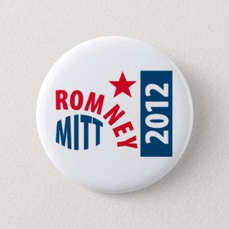 Mitt Romney 2012 Pinback Button