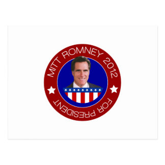 Mitt Romney 2012 Post Card