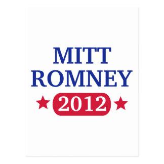 Mitt Romney 2012 Post Cards