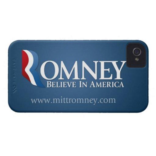 Mitt Romney 2012 - President Case-Mate iPhone 4 Cases