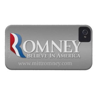 Mitt Romney 2012 - President iPhone 4 Cover