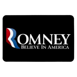 Mitt Romney 2012 - Presidente Imán Foto Rectangular