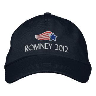 Mitt Romney 2012 rayas de la estrella bordó el gor Gorras Bordadas