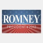 Mitt Romney 2012 Rectangular Altavoces
