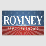 Mitt Romney 2012 Rectangular Stickers