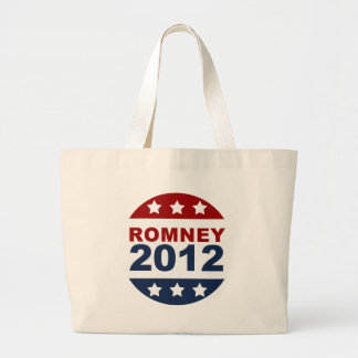 Mitt Romney 2012 Red, White, and Blue Canvas Bags
