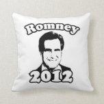 Mitt Romney 2012 retro Almohada