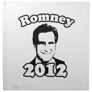 Mitt Romney 2012 Retro Cloth Napkin