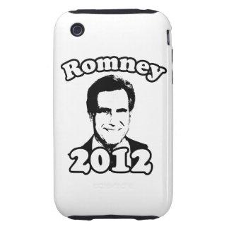 Mitt Romney 2012 retro Tough iPhone 3 Protectores