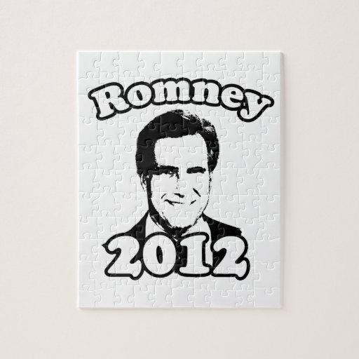 Mitt Romney 2012 retro Puzzle Con Fotos