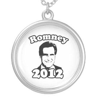 Mitt Romney 2012 Retro Round Pendant Necklace