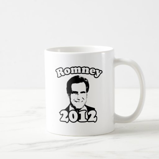 Mitt Romney 2012 retro Tazas