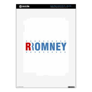Mitt Romney 2012 iPad 3 Decals