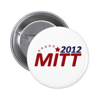 Mitt Romney 2012 star Pins