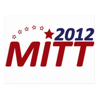 Mitt Romney 2012 star Postcard