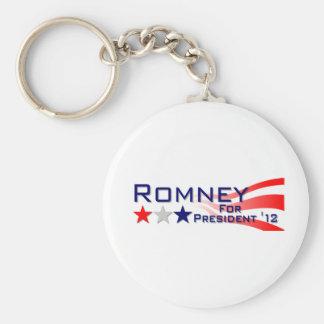 Mitt Romney 2012 Stars and Stripes Keychain