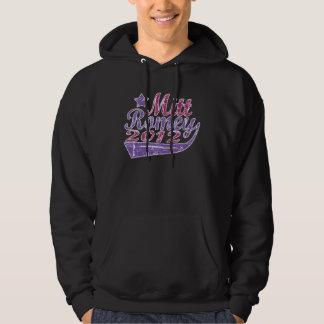 Mitt Romney 2012 Swash Purples Hoodie