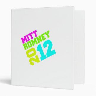 MITT ROMNEY 2012 SWAY NEON.png Vinyl Binders