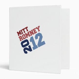 MITT ROMNEY 2012 SWAY.png Vinyl Binder