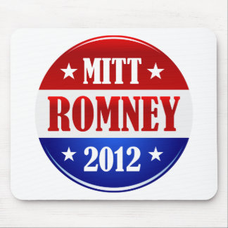 Mitt Romney 2012 Tapetes De Raton