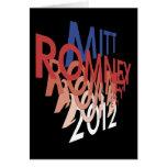 Mitt Romney 2012 Tarjeta De Felicitación