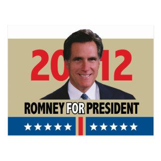 Mitt Romney 2012 Tarjeta Postal