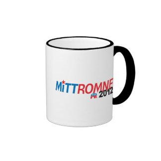 Mitt Romney 2012 Taza A Dos Colores
