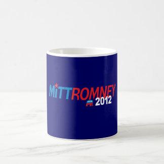 Mitt Romney 2012 Taza Básica Blanca