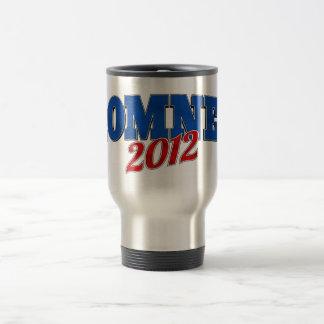 Mitt Romney 2012 Taza De Viaje