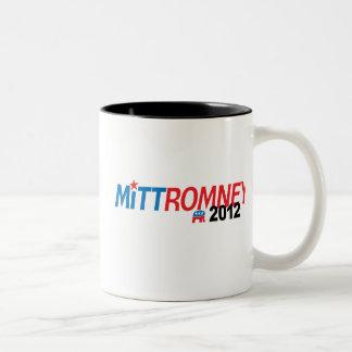 Mitt Romney 2012 Taza Dos Tonos