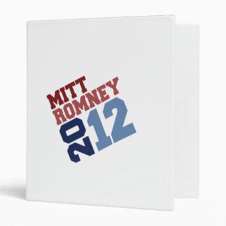 MITT ROMNEY 2012 TILT.png 3 Ring Binders