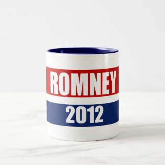 MITT ROMNEY 2012 Two-Tone COFFEE MUG