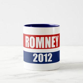 MITT ROMNEY 2012 Two-Tone COFFEE MUG
