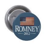 Mitt Romney 2012 - USA Flag Pins