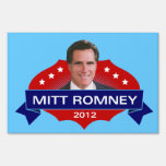 Mitt Romney 2012 Yard Sign