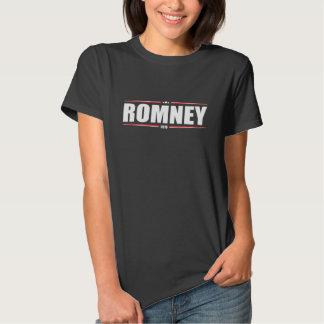 Mitt Romney 2016 (estrellas y rayas) Playera