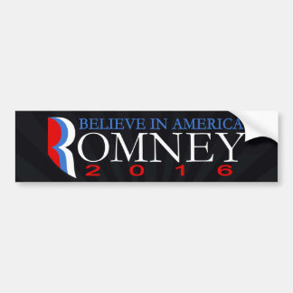 Mitt Romney 2016 políticos republicanos Pegatina Para Auto